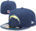 Los Angeles Chargers - On Field Cap 5950