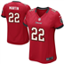 Tampa Bay Buccaneers - D. Martin #22 Woman Jersey