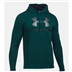 Under Armour 1302294 Rival Fitted Graphic Hoddy